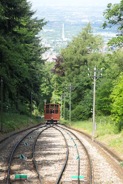 Upper historic funicular